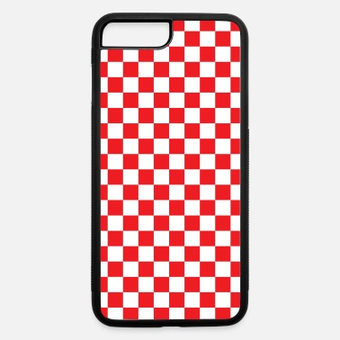 Checkerboard Red Checkerboard - iPhone 7 & 8 Plus Case