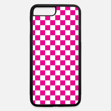 Checkerboard Pink Checkerboard - iPhone 7 & 8 Plus Case