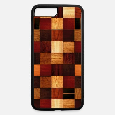 Day wood block pattern - iPhone 7 & 8 Plus Case