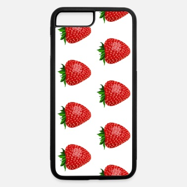 Phone Case Strawberry Pattern - iPhone 7 & 8 Plus Case