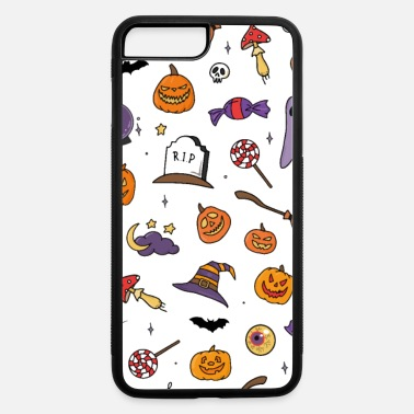 Fall Halloween Pattern Phone Case - iPhone 7 & 8 Plus Case
