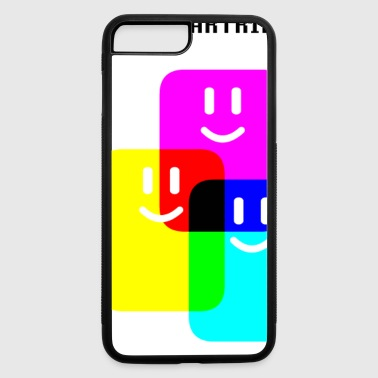 CMYK Full Cartridges - iPhone 7 Plus/8 Plus Rubber Case