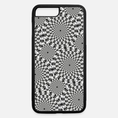 Visual Illusion Turning Circles Pattern (Optical Visual Illusion) - iPhone 7 & 8 Plus Case
