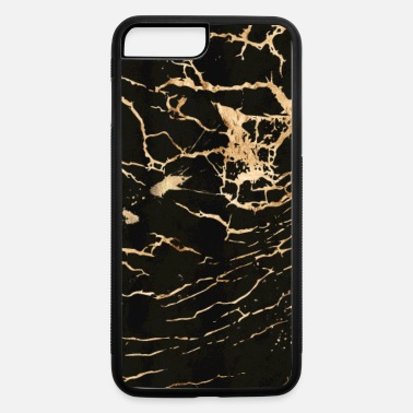 Gold black_gold_marble_2_spread - iPhone 7 Plus/8 Plus Rubber Case