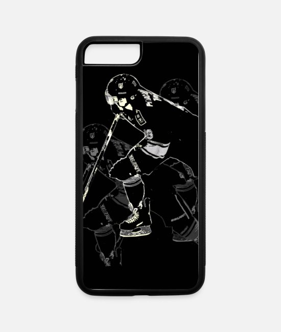 Contact Sport iPhone Cases - Hockey Mania - Hockey Player - iPhone 7 & 8 Plus Case white/black