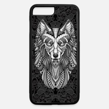 Aztec Wolf Case - iPhone 7 & 8 Plus Case