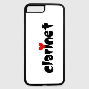 Clarinet Small Heart - iPhone 7 Plus/8 Plus Rubber Case