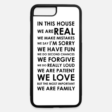 House In this house - iPhone 7 Plus/8 Plus Rubber Case