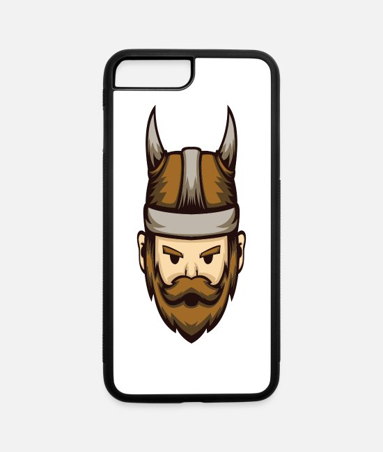 Viking iPhone Cases - Viking Nordmann bandit - iPhone 7 & 8 Plus Case white/black