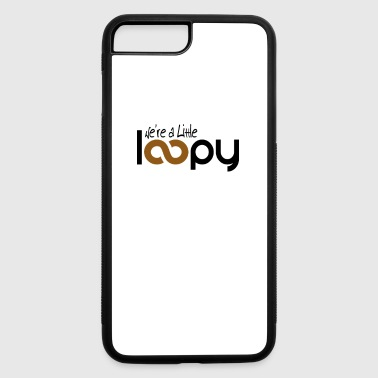Loopy Mom Knitting Shirt Funny Knitter Gift Little Loopy - iPhone 7 Plus/8 Plus Rubber Case