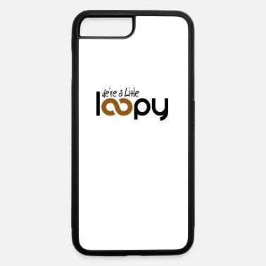 Loopy Mom Knitting Shirt Funny Knitter Gift Little Loopy - iPhone 7 & 8 Plus Case