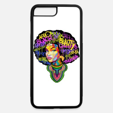 Dashiki Melanin Afro Woman T Shirt - iPhone 7 & 8 Plus Case
