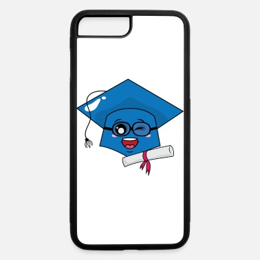 Diploma Graduation Hat and Diploma - iPhone 7 & 8 Plus Case