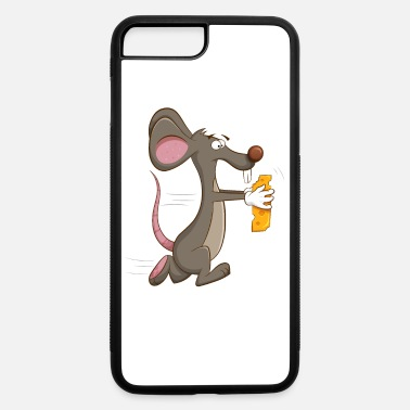 Rat Cute Mouse With A Piece Of Cheese - iPhone 7 & 8 Plus Case