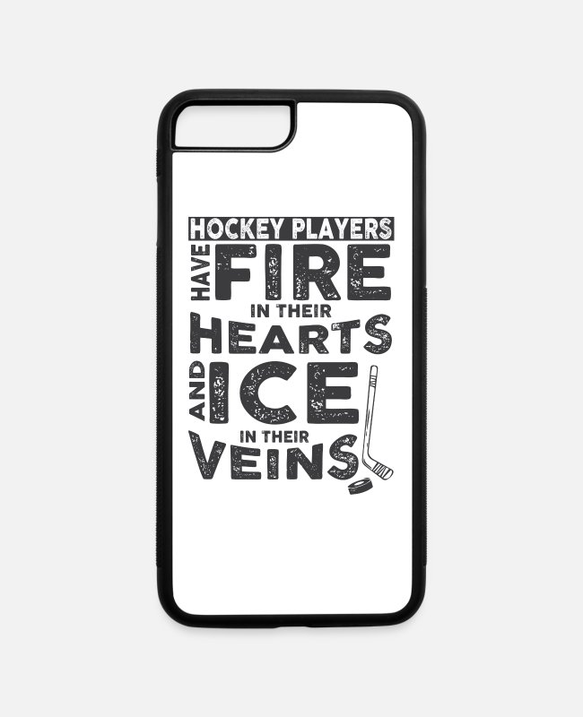 Hockey Player iPhone Cases - Hockey Players - iPhone 7 & 8 Plus Case white/black