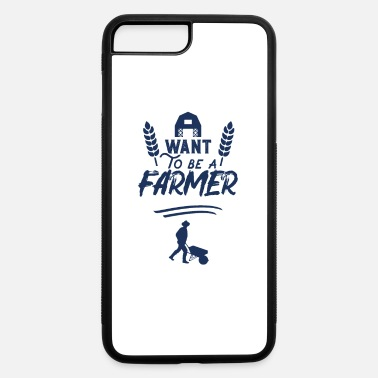 Tractor Tree Christmas Farmer Countryside Farm Tractor Farming Farmer - iPhone 7 & 8 Plus Case