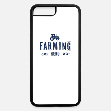 Tractor Tree Christmas Farmer Farm Farming Farmer Countryside Tractor - iPhone 7 & 8 Plus Case