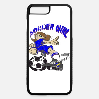 SOCCER GIRL TEXT - iPhone 7 & 8 Plus Case