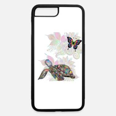turtle and butterfly - iPhone 7 & 8 Plus Case