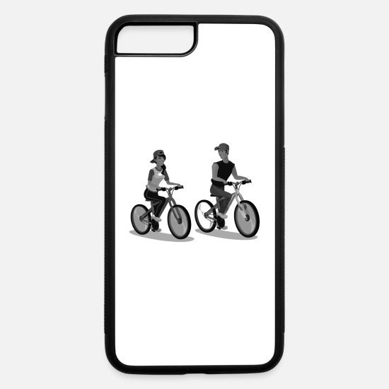 Cycling iPhone Cases - Cycling - iPhone 7 & 8 Plus Case white/black