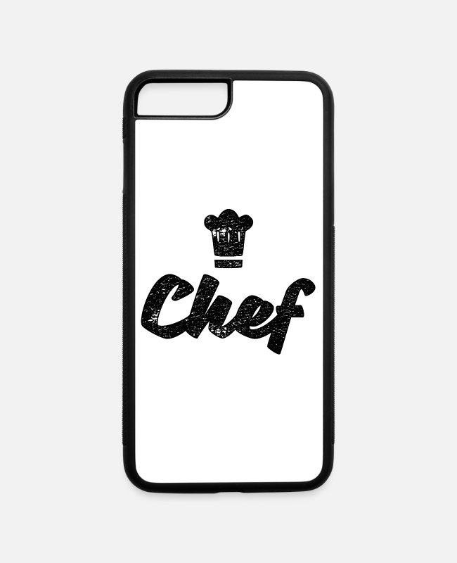Occupation iPhone Cases - Chef - iPhone 7 & 8 Plus Case white/black