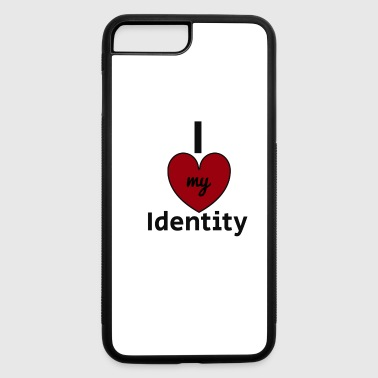 I Love My Identity Collection - iPhone 7 Plus/8 Plus Rubber Case