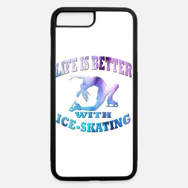 Ice Skate Ice Skating - iPhone 7 Plus/8 Plus Rubber Case