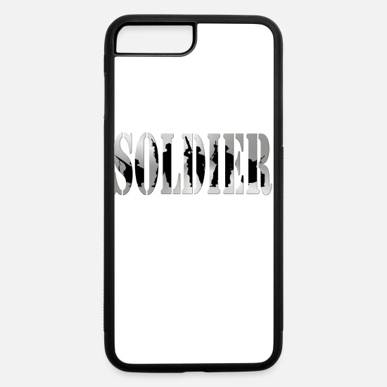 Army iPhone Cases - Soldier - iPhone 7 & 8 Plus Case white/black
