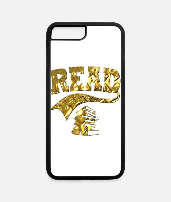 Read iPhone Cases - Read - iPhone 7 & 8 Plus Case white/black