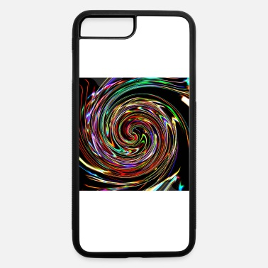 Neon Neon spirals, Neon Spiralen - iPhone 7 & 8 Plus Case