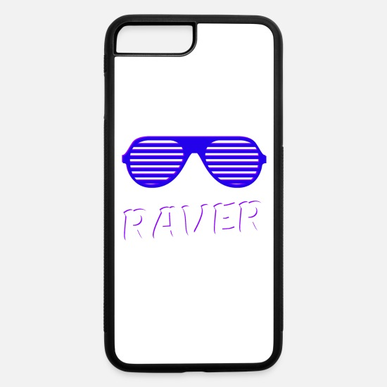 Night Club iPhone Cases - Raver - iPhone 7 & 8 Plus Case white/black