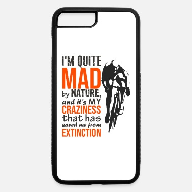 Quit Pantani Motivational Quote, Cool Cycling T Shirt - iPhone 7 & 8 Plus Case