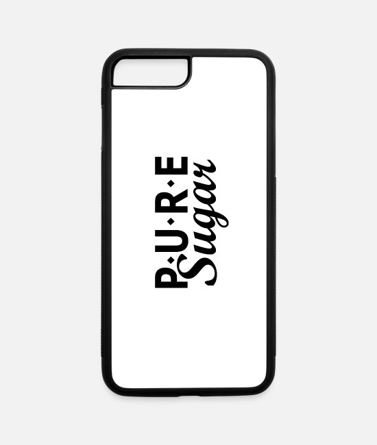 Romey iPhone Cases - Pure sugar - iPhone 7 & 8 Plus Case white/black