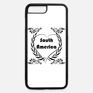 South America I love South America - iPhone 7 Plus/8 Plus Rubber Case