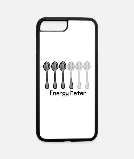 Play iPhone Cases - Energy Meter - iPhone 7 & 8 Plus Case white/black