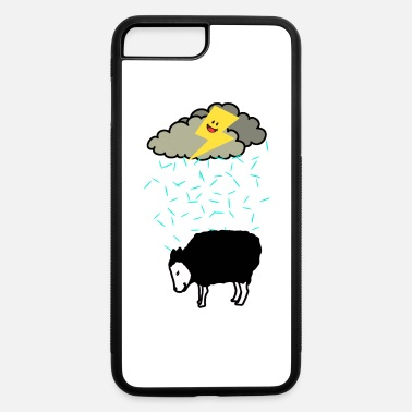 Forgive Single sheep sad unhappy tear lonly single depression - iPhone 7 & 8 Plus Case
