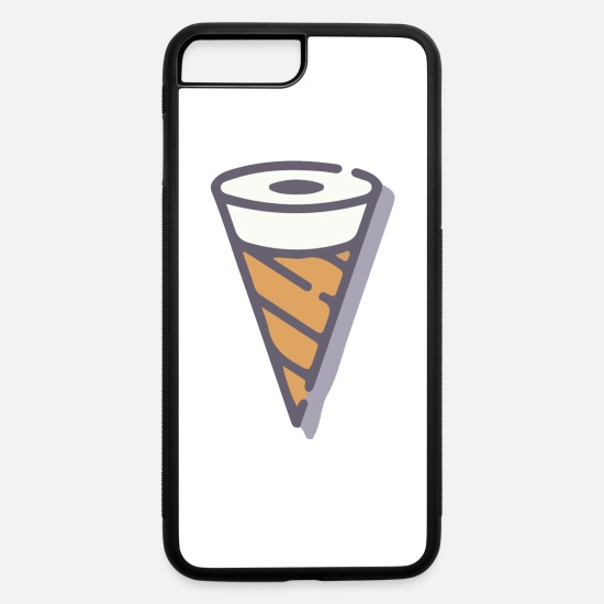 Ice iPhone Cases - Ice cream - iPhone 7 & 8 Plus Case white/black