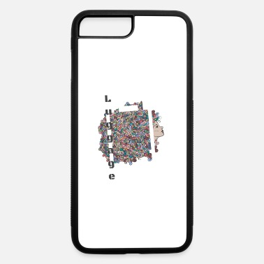 Afro Luggage - iPhone 7 Plus/8 Plus Rubber Case