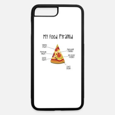 Food My Food Pyramid Pizza - iPhone 7 & 8 Plus Case