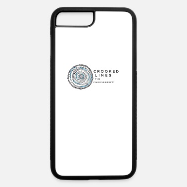 Crook Crooked Lines Album Cover Art - iPhone 7 Plus/8 Plus Rubber Case