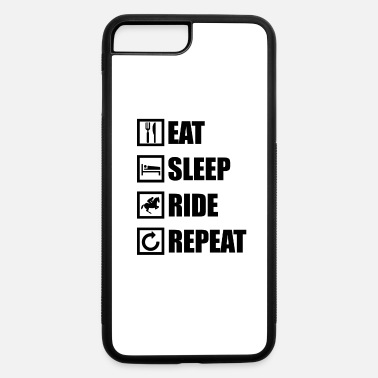 Riding Instructor EAT SLEEP RIDE REPEAT - iPhone 7 & 8 Plus Case