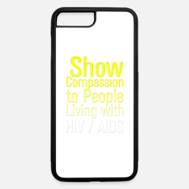 Hiv AIDS Awareness HIV AIDS - iPhone 7 Plus/8 Plus Rubber Case