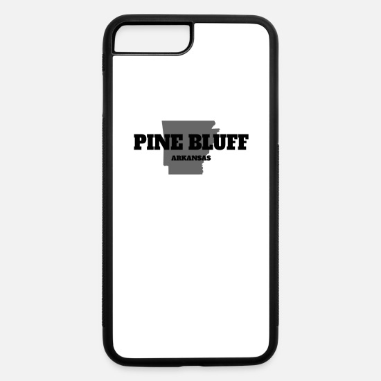 Baseball iPhone Cases - ARKANSAS PINE BLUFF US STATE EDITION - iPhone 7 & 8 Plus Case white/black