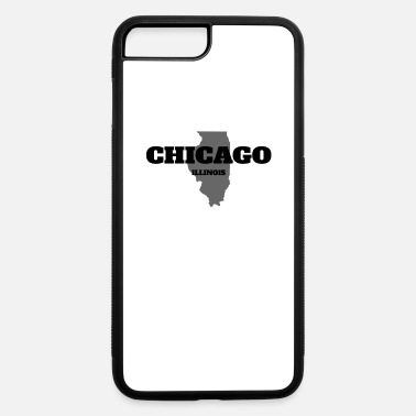 State ILLINOIS CHICAGO US STATE EDITION - iPhone 7 & 8 Plus Case