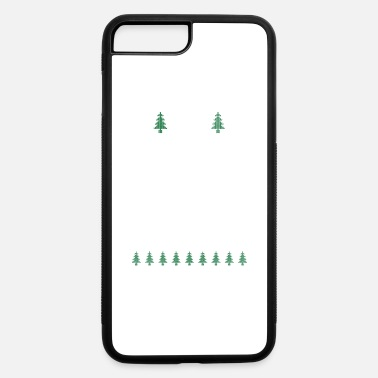 Ugly Christmas Space Christmas Ugly Sweater Ugly - iPhone 7 Plus/8 Plus Rubber Case
