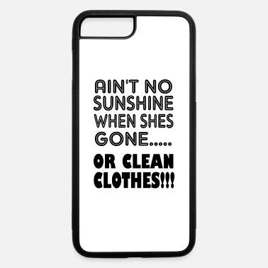 Clean-what-it-is or clean clothes - iPhone 7 & 8 Plus Case