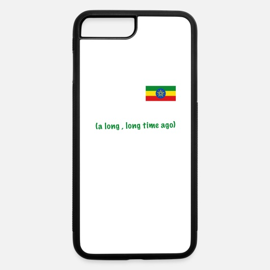 Ethiopia iPhone Cases - Made in Ethiopia a long long time ago - iPhone 7 & 8 Plus Case white/black