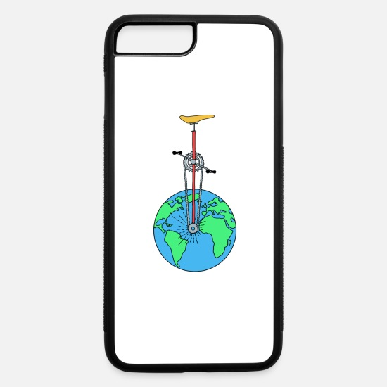 Eco iPhone Cases - The Eco Wheel - iPhone 7 & 8 Plus Case white/black