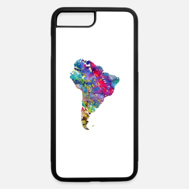 South America South America map - iPhone 7 & 8 Plus Case