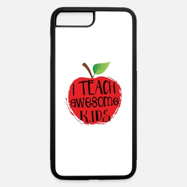 Aspergers Syndrome i teach awesome kids - iPhone 7 Plus/8 Plus Rubber Case